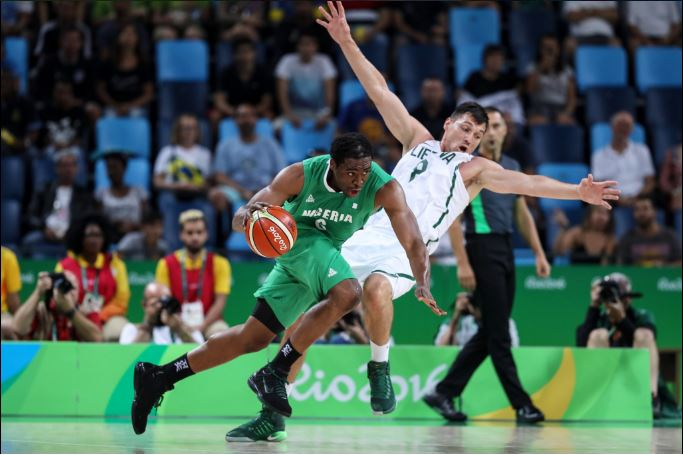 Ike Diogu yet again led by example for D'Tigers with his double but it wasn't enough as the Lithuanians ran out 89-80 points winners. Photo Credit: @FIBA