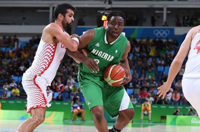 Ike Diogu led by example and contributed with 12 rebounds that helped D'Tigers beat Croatia in an absorbing game. Photo Credit: @FIBA