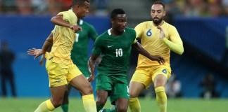Nigeria vs Colombia