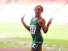 Joy Udo-Gabriel shatters 100m/200m PBs to qualify for African U-20 Champs