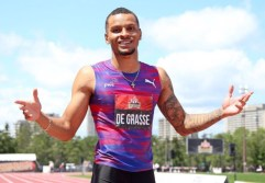 De Grasse pulls out from London World Championships