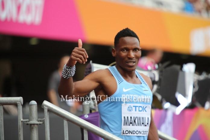 Isaac Makwala, Botswana, 2017 World Championships