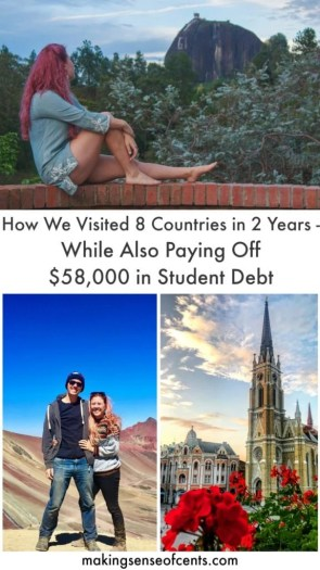 How We Visited 8 New Countries in 2 Years - While Also Paying Off 58k in Student Debt