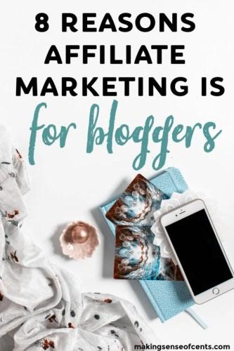 8 motivi per cui adoro assolutamente il marketing di affiliazione per i blogger #affiliatemarketingforblogger #howtomakemoney #howtomakemoneyblogging