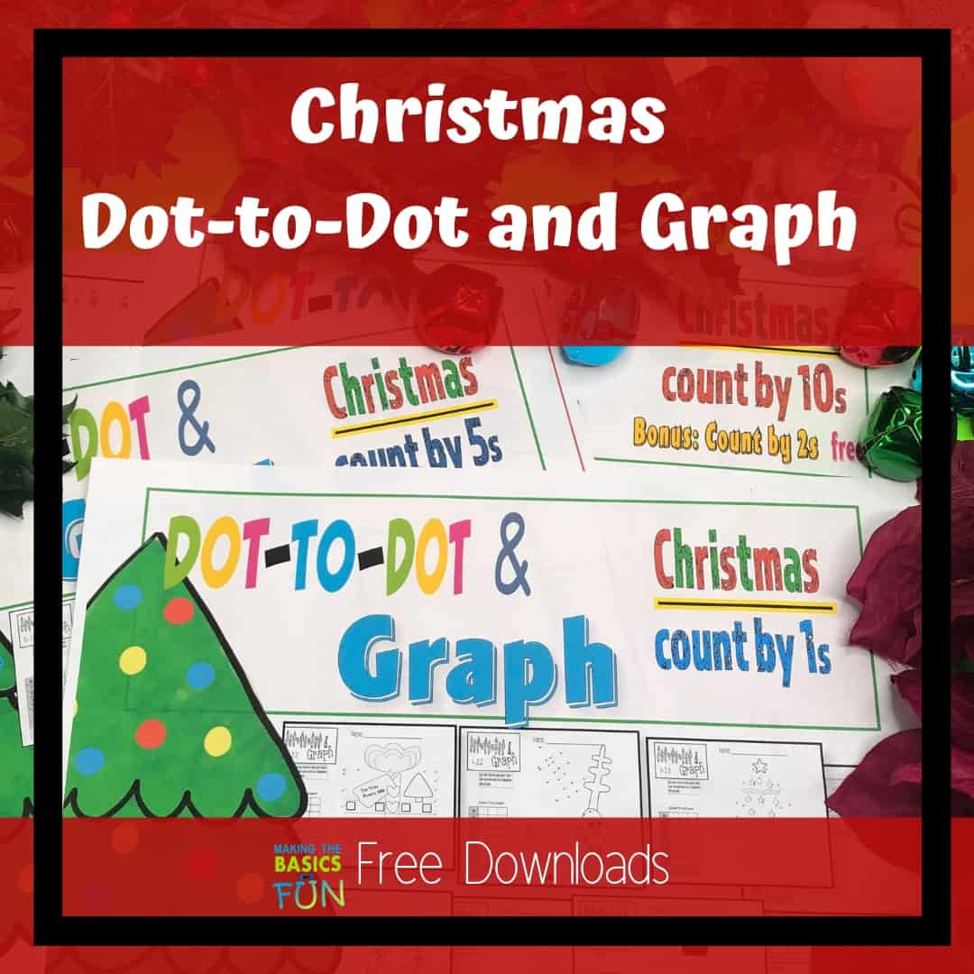 Fun Christmas Dot To Dot And Graph To Add You Math