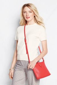 coral cross body person