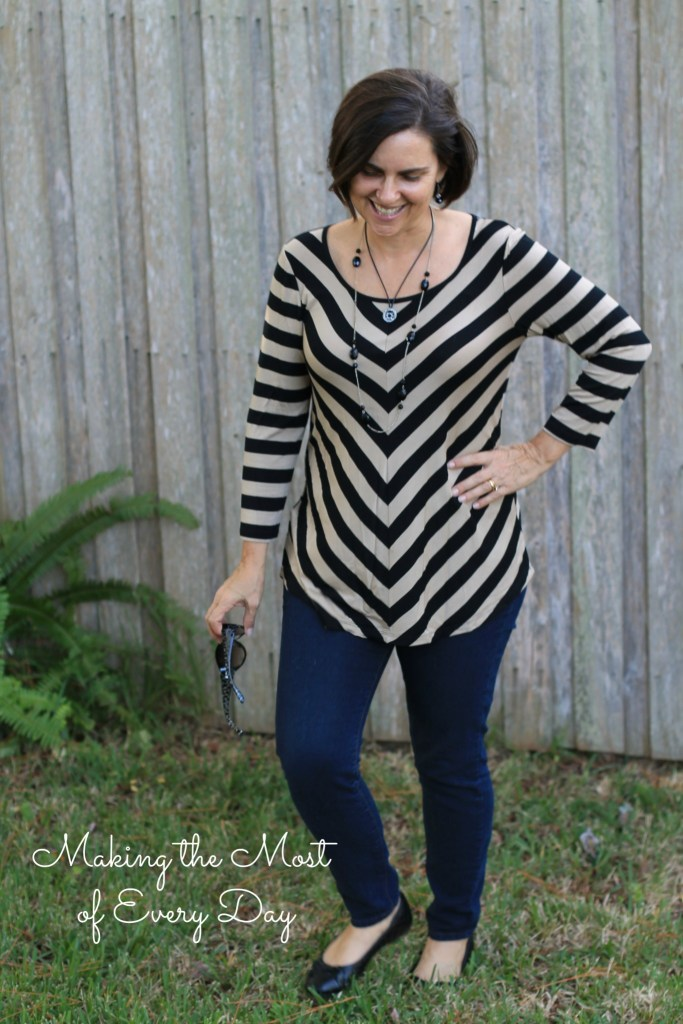 chevron tunic 2 marked