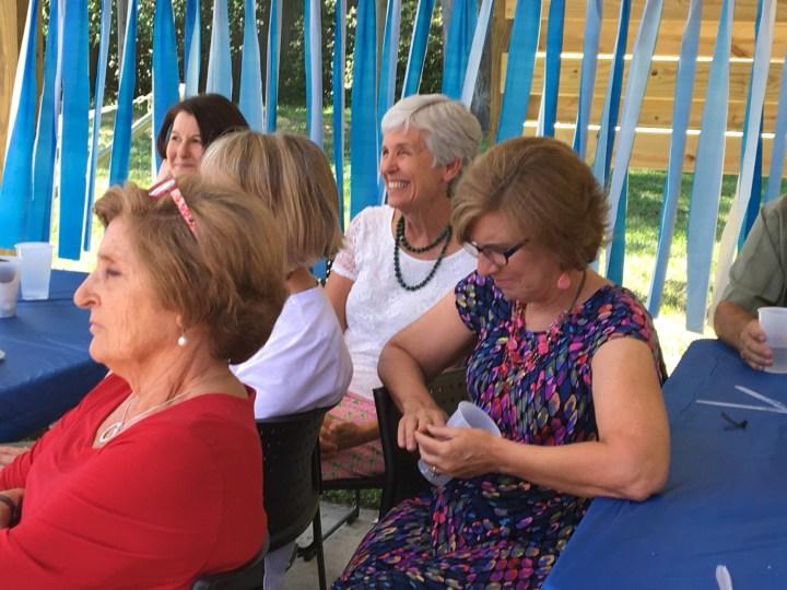 Prudence, Lori, Mary, Jackie