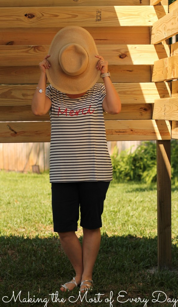 Merci with hat