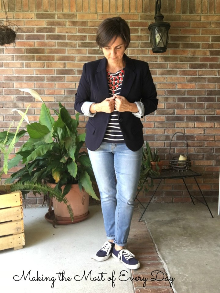Nautical look Blazer