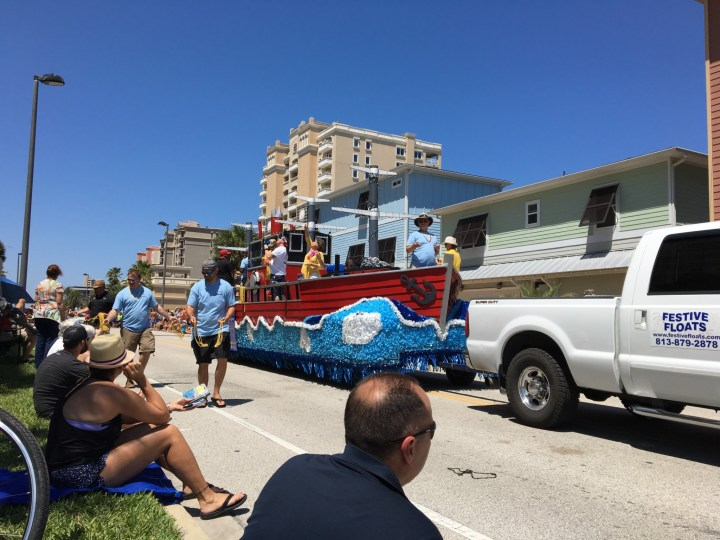 Jax Beaches parade
