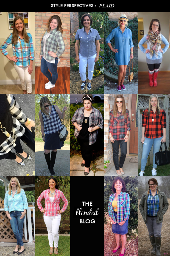 plaid style perspectives blended blog