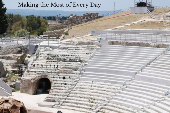Reason to visit Sicily: Greek amphitheaters!