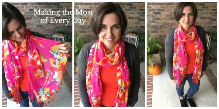 fuchsia-and-orange-scarf-collage-marked