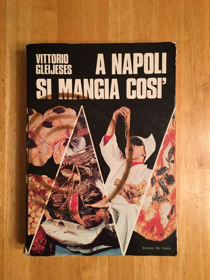 Can you tell from the burn mark that this is my favorite Italian cookbook? It is!