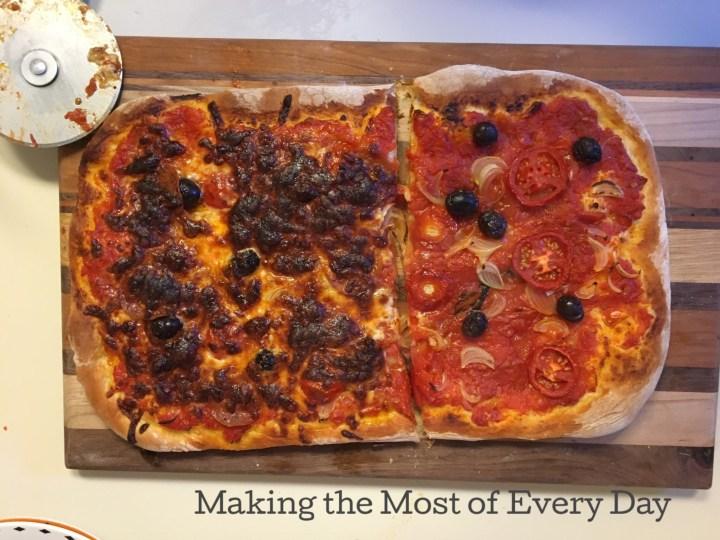 The best homemade no-knead pizza recipe ever!