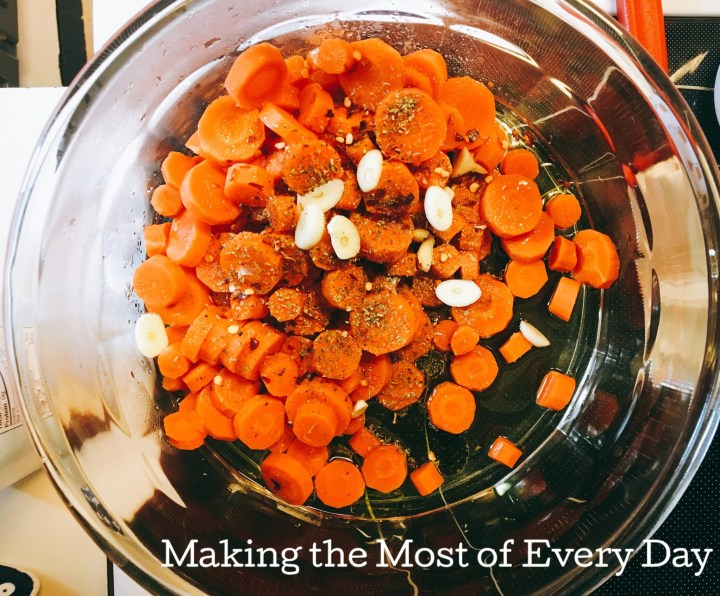 Bring some spicy carrots to your next potluck!
