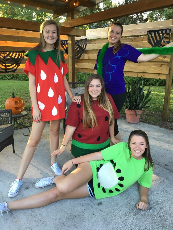 Fruit costumes