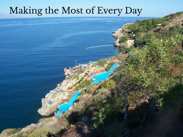 The second reason to visit Sicily is for the beautiful geography!