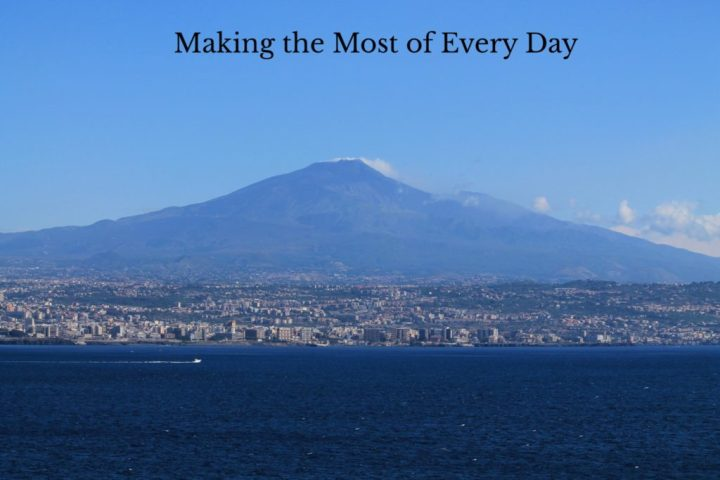 The second reason to visit Sicily is for its amazing geography!