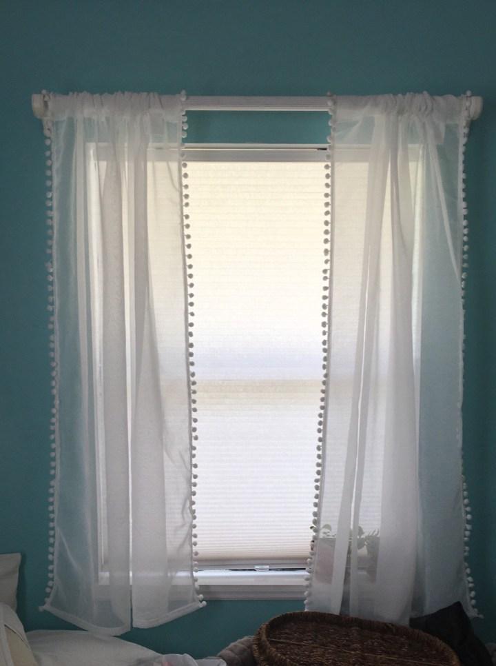 pompom drapes