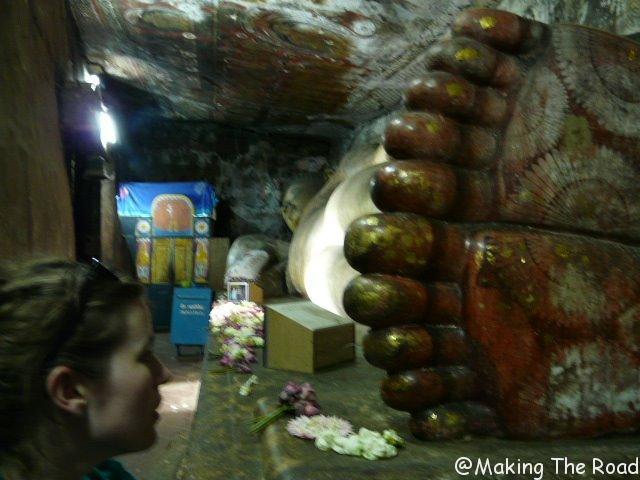 Dumbula sri lanka 3 semaine idées conseils bon plan budget buddha couché temple d'or
