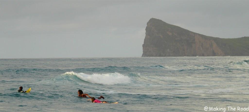 mauritius boady board surf