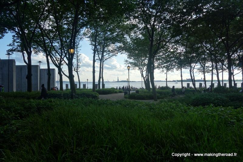 Battey Park New York insolites