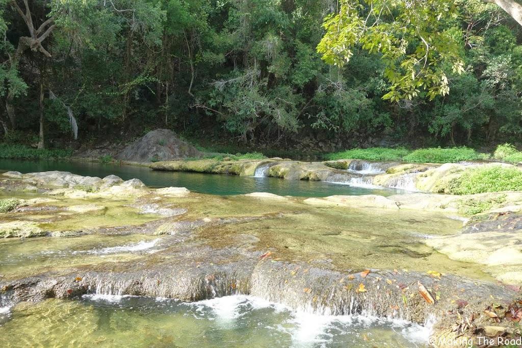 se baigner cuba Las Terrazas Los banos de San Juan