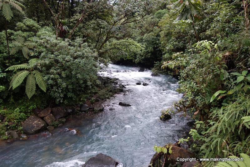 randonnée rio celeste costa rica