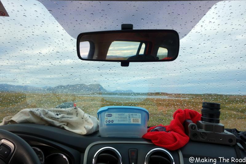 camping stykkisholmur dormir dans sa voiture en Islande