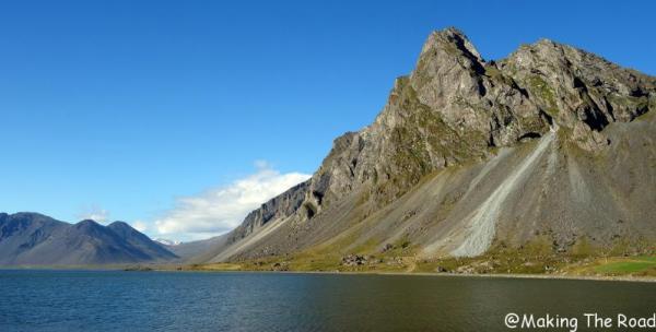 10 jours itineraire tour islande dormir dans sa voiture Le pic Eystrahorn Lagune de Lon