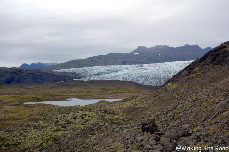 randonnée glacier flaajokull islande