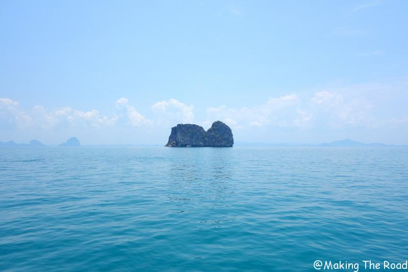 trajet koh lanta koh ngai voyage 15 jours en thailande budget blog - camper île paradisiaque - trajet kuraburi ko surin
