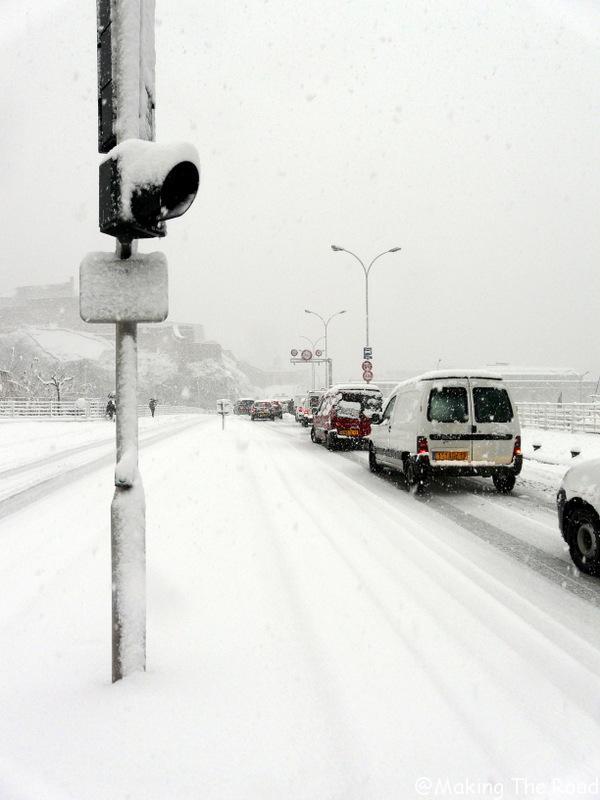 marseille sous la neige 2009