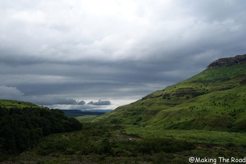 afrique du sud randonnée drakensberg tugela falls