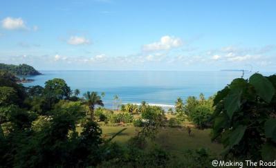 costa rica - playa rincon - plage sauvage