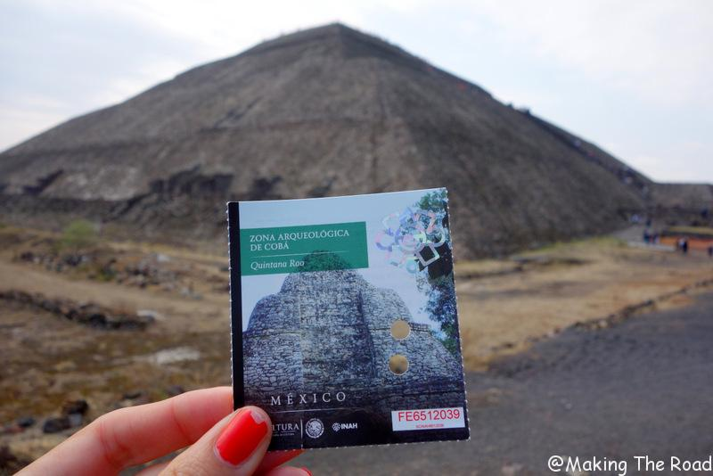 teotihuacán escale a Mexico - visite pyramides - Teotihuacan