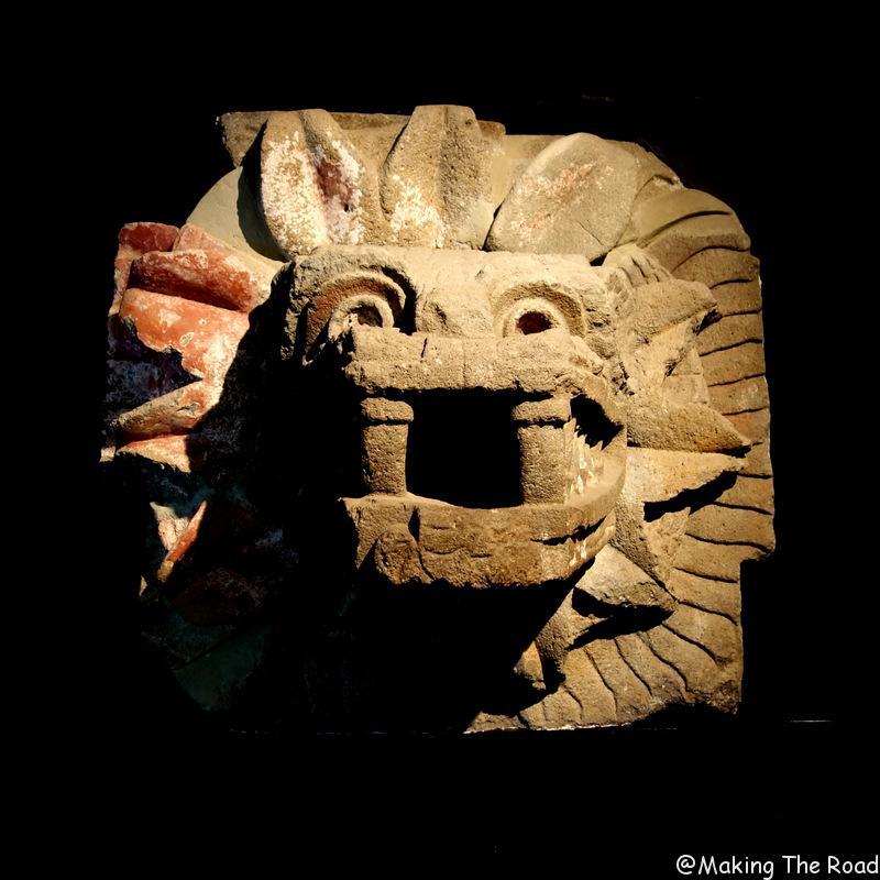 visiter pyramides Teotihuacan mexico stop over musée centre ville correspondance aeroport