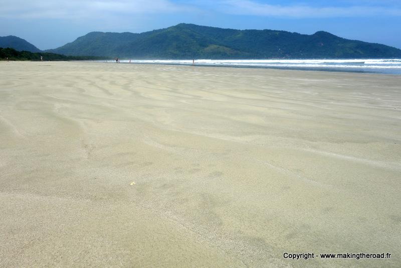 bresil plage sauvage praia fazenda proche paraty
