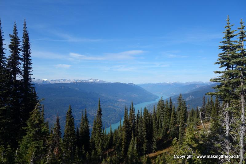 randonnée parc national mont revelstoke road trip canada 1 mois