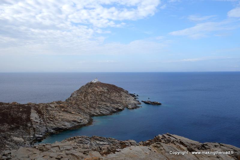 Grèce – Le Cap Korakas à Paros