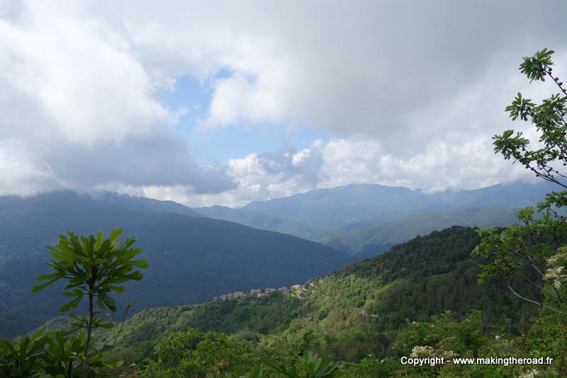 visiter village prés de bastia à voir