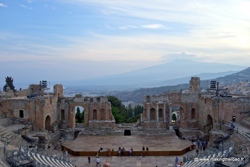 visiter la sicile en road trip taormina
