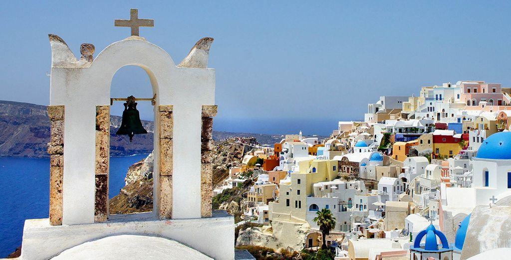 que visiter santorin grèce blog voyage