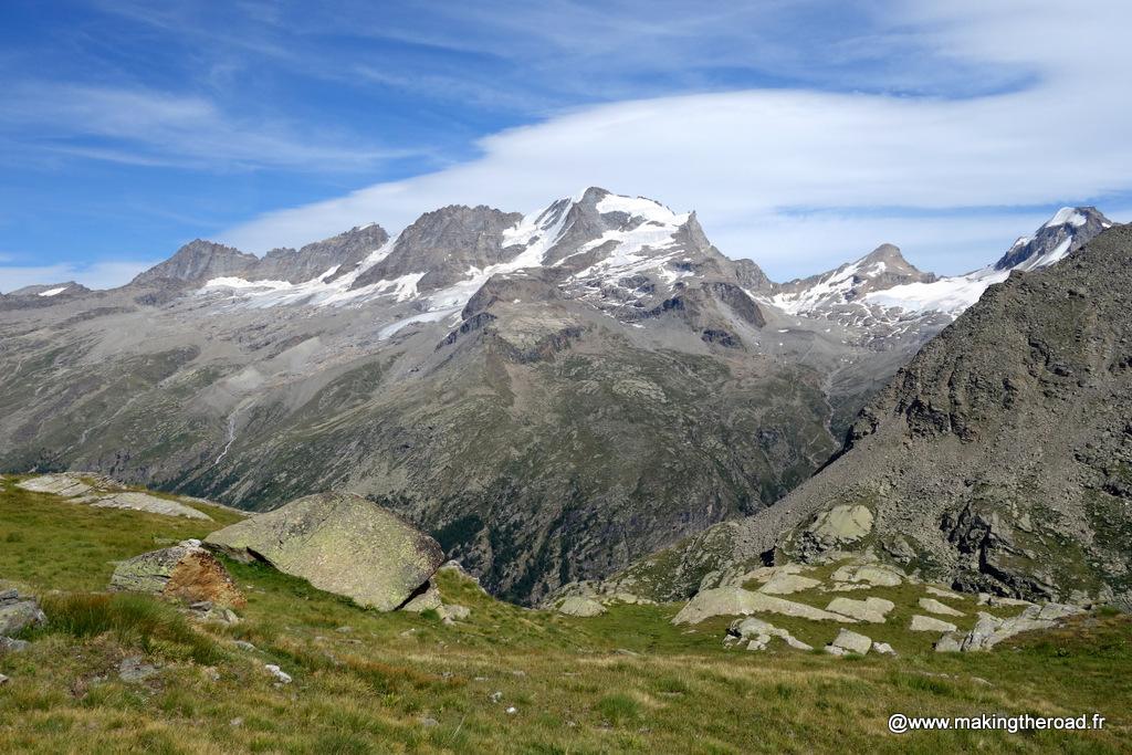 randonnée alpes italienne visiter gran paradiso une semaine
