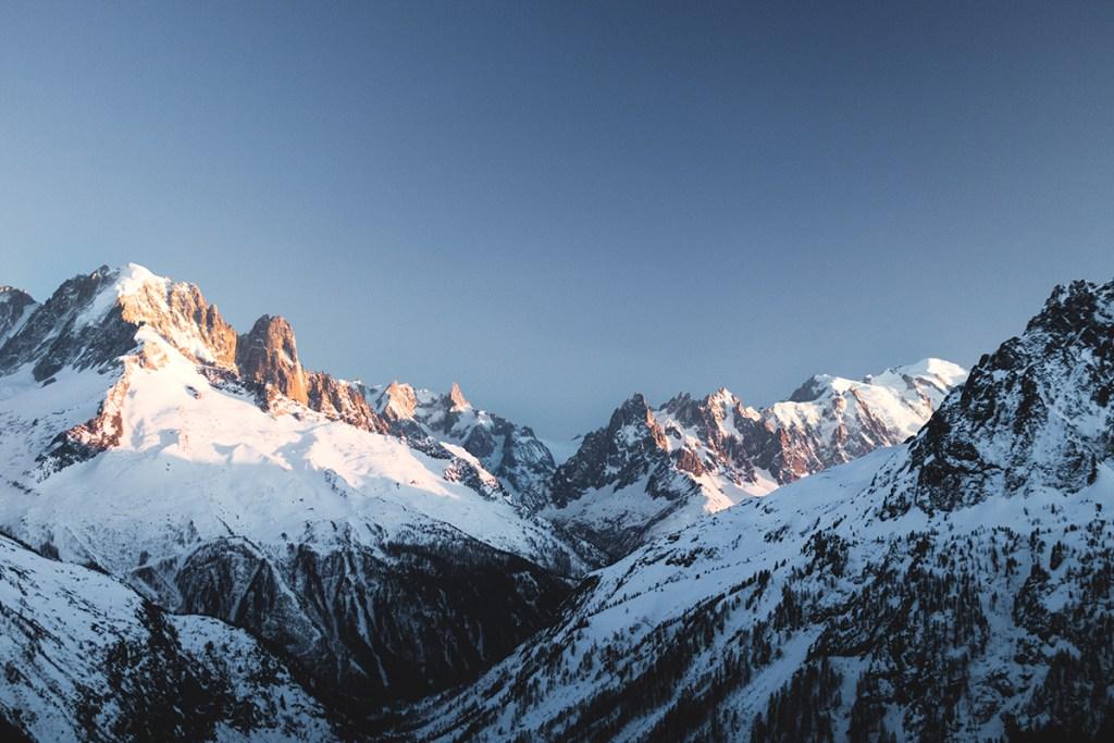 randonnée Chamonix hiver blog voyage
