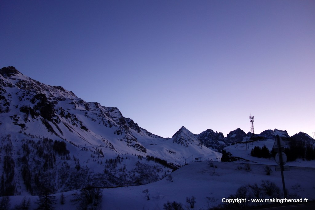 randonnee alpes hiver raquette col du lautaret