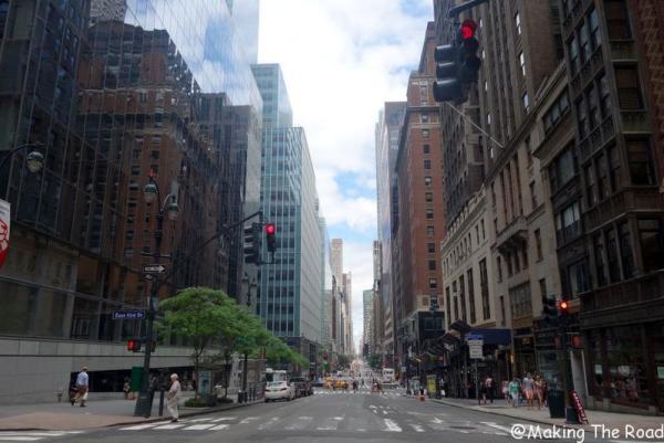 visiter à pied new york en 10 jours madison avenue conseils blog voyage