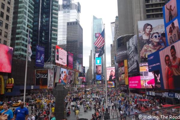 visiter Time square que faire à new york en 10 jours